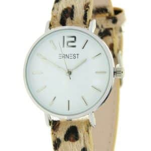 Ernest horloge leopard | The Fashion Label