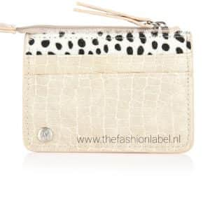 Portemonneetje leopard beige | The Fashion Label