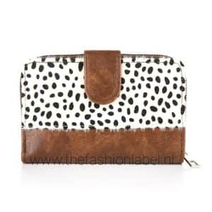 Portemonnee leopard bruin | The Fashion Label