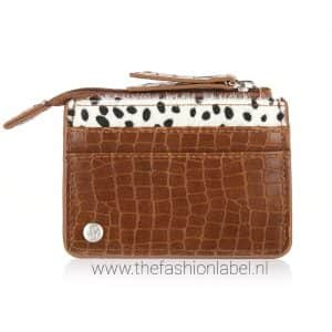 Portemonneetje leopard bruin | The Fashion Label