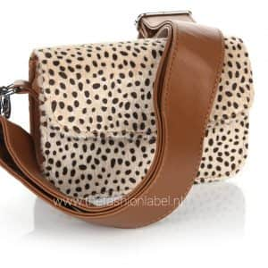 Tasje cheetah camel | The Fashion Label