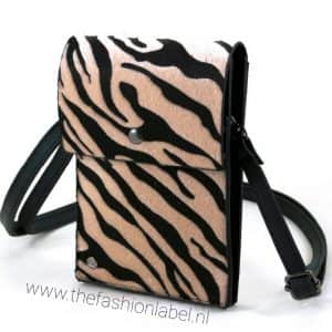 Tasje zebra | The Fashion Label