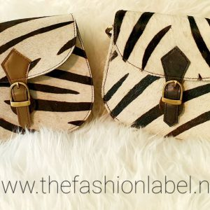 Schoudertasje Zebra Print | The Fashion Label