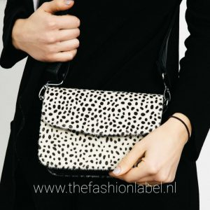 Tasje Cheetah Black | The Fashion Label