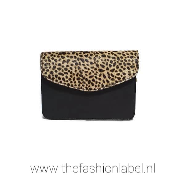 Leopard Zwart | The Fashion Label
