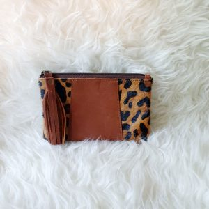 Clutch Panter Bruin | The Fashion Label