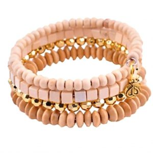 Wikkelarmband Nude | The Fashion Label