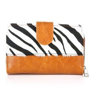Portemonnee Zebra Camel | The Fashion Label